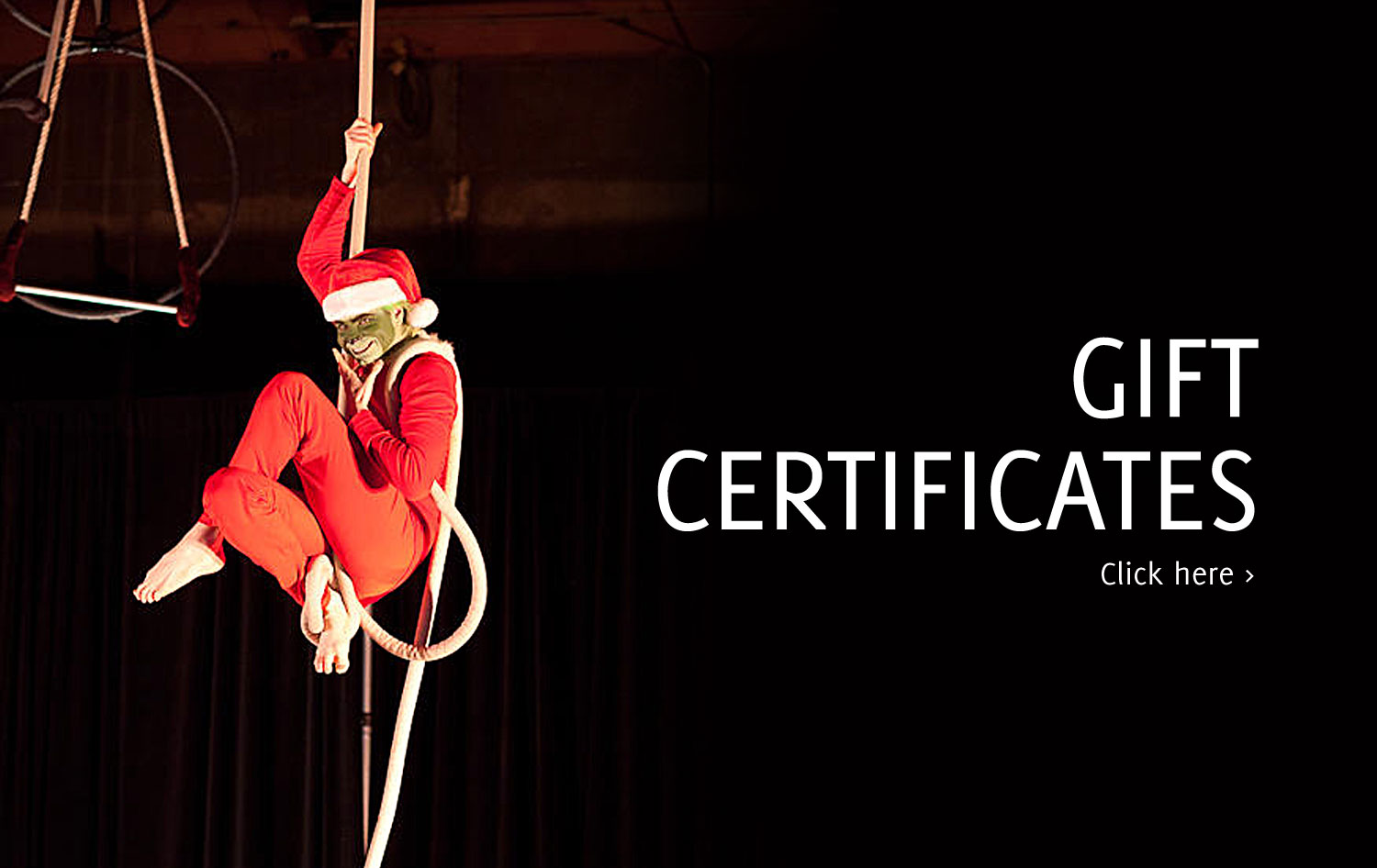 Gift Certificates available online!
