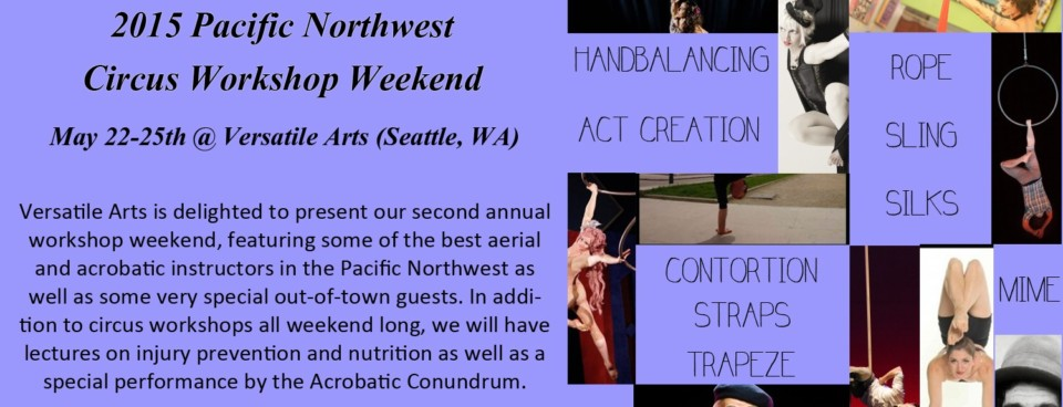 2015 PNW Circus Workshop Weekend