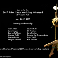 2017 PNW Circus Workshop Weekend