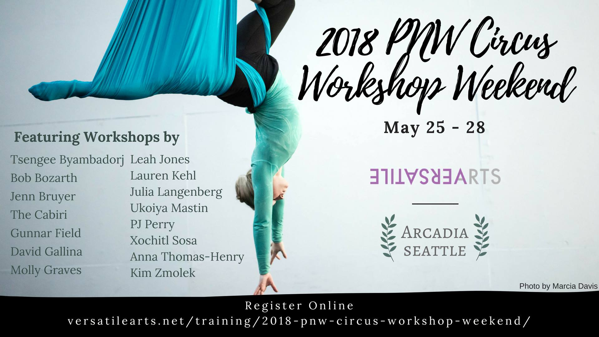 2018 PNW Circus Workshop Weekend