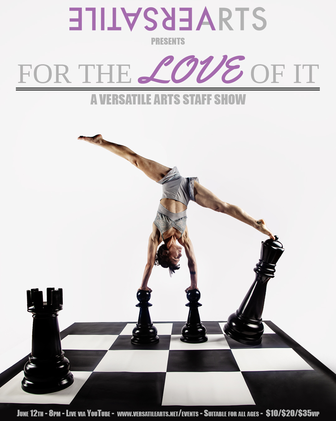 Virtual VA Presents – For The Love Of It: A Staff Show
